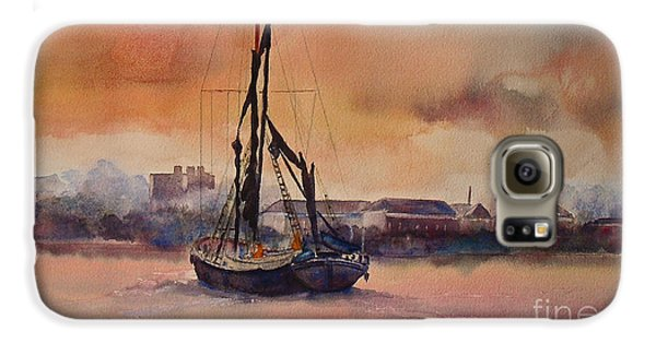 At Rest On The Thames London Galaxy S6 Case