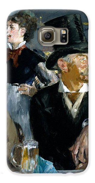 At The Cafe Concert Galaxy S6 Case by Edouard Manet