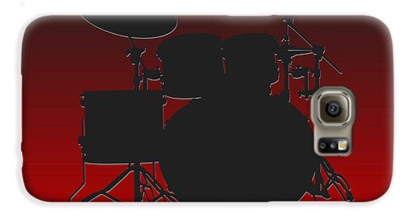 Atlanta Falcons Drum Set Galaxy S6 Case by Joe Hamilton
