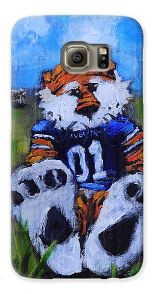 Aubie With The Cows Galaxy S6 Case