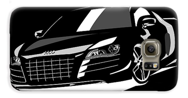 Automobile Galaxy S6 Case - Audi R8 by Michael Tompsett