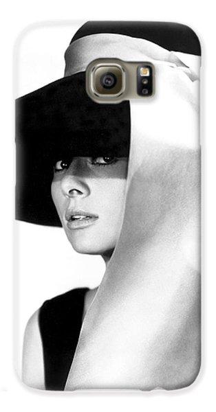 Audrey Hepburn Galaxy S6 Case by Daniel Hagerman