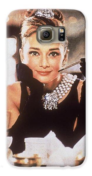 Audrey Hepburn Galaxy S6 Case by Georgia Fowler