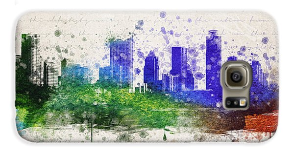 Austin In Color Galaxy S6 Case by Aged Pixel