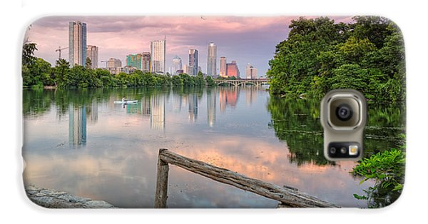 Austin Skyline From Lou Neff Point Galaxy S6 Case by Silvio Ligutti