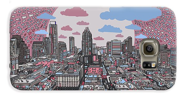 Austin Texas Abstract Panorama 3 Galaxy S6 Case