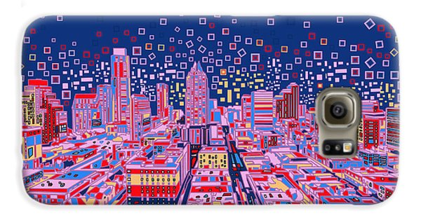 Austin Texas Abstract Panorama Galaxy S6 Case