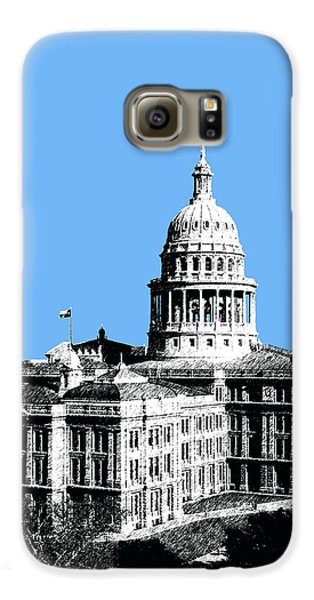 Austin Texas Capital - Sky Blue Galaxy S6 Case by DB Artist