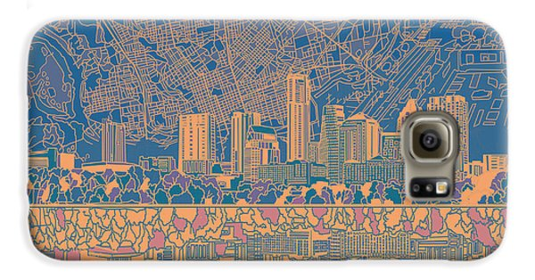 Austin Texas Skyline 2 Galaxy S6 Case
