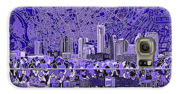 Austin Texas Skyline 4 Galaxy S6 Case