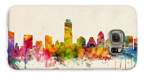 Austin Texas Skyline Galaxy S6 Case by Michael Tompsett