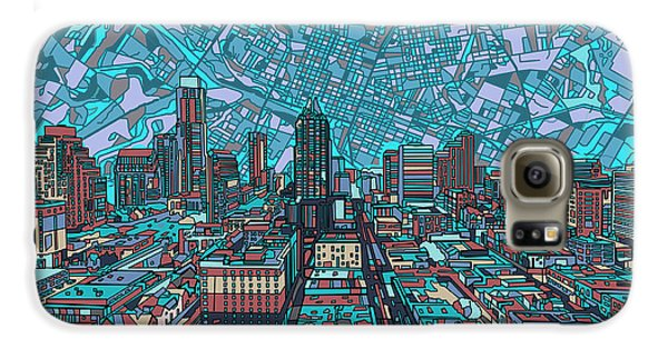 Austin Texas Vintage Panorama 4 Galaxy S6 Case