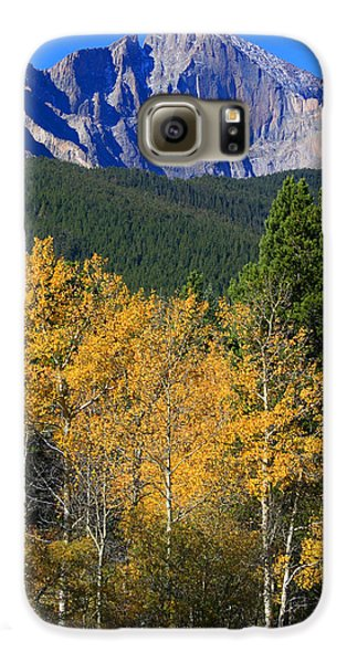 Autumn Aspens And Longs Peak Galaxy S6 Case by James BO  Insogna
