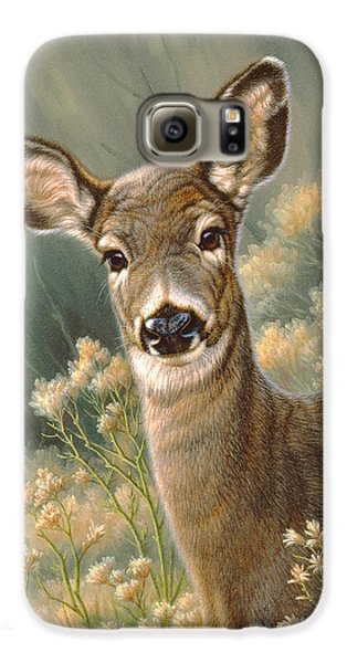 Autumn Fawn-blacktail Galaxy S6 Case