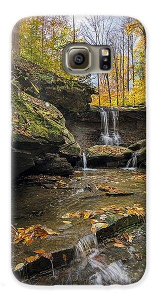 Autumn Flows Galaxy S6 Case by James Dean