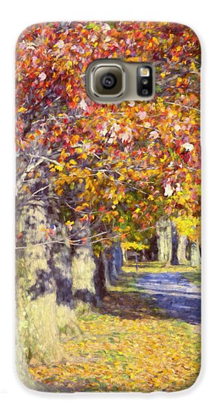 Autumn In Hyde Park Galaxy S6 Case