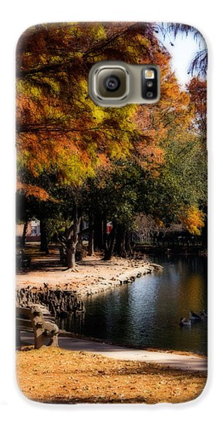 Autumn On Theta Galaxy S6 Case by Lana Trussell