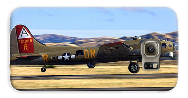 B17 Flying Fortress Departs Livermore Klvk Galaxy S6 Case