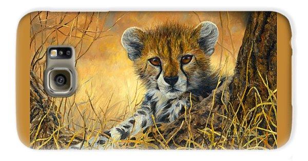Baby Cheetah  Galaxy S6 Case by Lucie Bilodeau