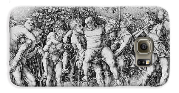 Bacchanal With Silenus - Albrecht Durer Galaxy S6 Case by Daniel Hagerman