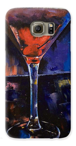 Backstage Martini Galaxy S6 Case by Michael Creese