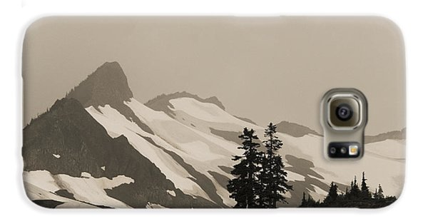 Galaxy S6 Case featuring the photograph Fog In Mountains by Yulia Kazansky
