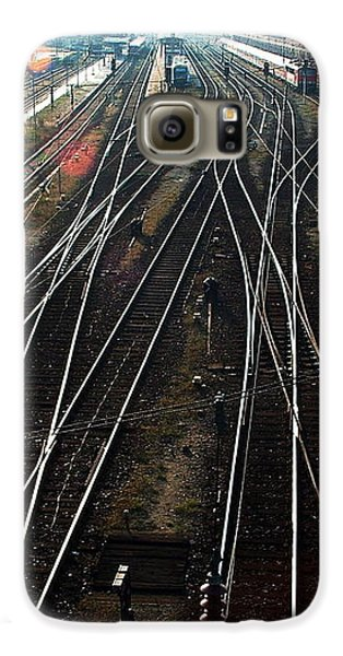 Galaxy S6 Case featuring the photograph Bahnhof Cottbus by Marc Philippe Joly