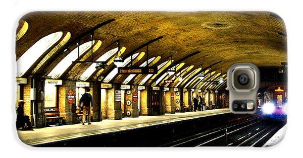 Baker Street London Underground Galaxy S6 Case by Mark Rogan