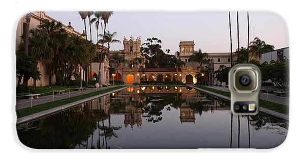 Galaxy S6 Case featuring the photograph Balboa Park Reflection Pool by Nathan Rupert
