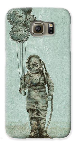 Beach Galaxy S6 Case - Balloon Fish by Eric Fan