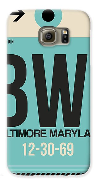 Baltimore Airport Poster 1 Galaxy S6 Case