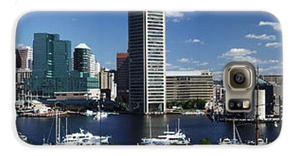 Baltimore Inner Harbor Panorama Galaxy S6 Case