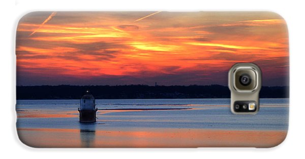 Baltimore Light At Gibson Island Galaxy S6 Case