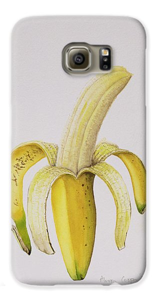 Banana Galaxy S6 Case by Alison Cooper