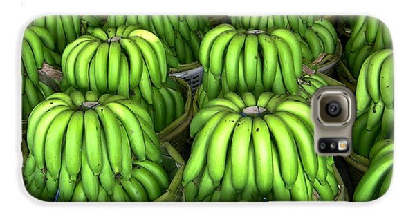 Banana Bunch Gathering Galaxy S6 Case by Douglas Barnett