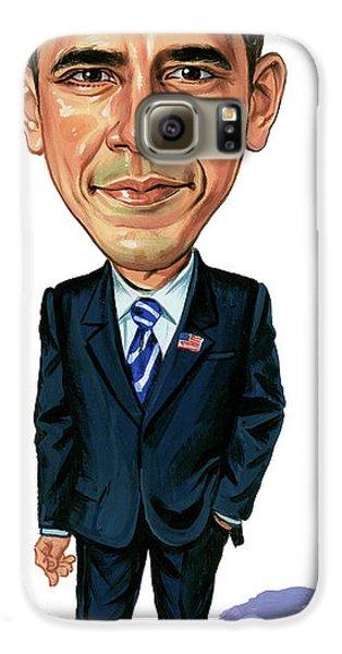 Barack Obama Galaxy S6 Case by Art