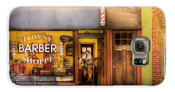 Barber - Towne Barber Shop Galaxy S6 Case