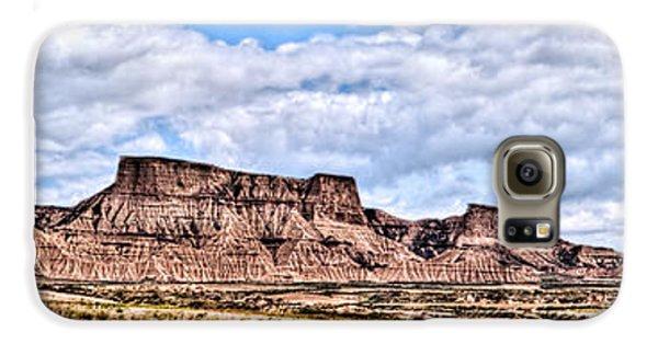 Bardenas Desert Panorama 1 Galaxy S6 Case