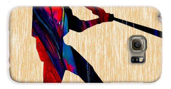Baseball Galaxy S6 Case by Marvin Blaine