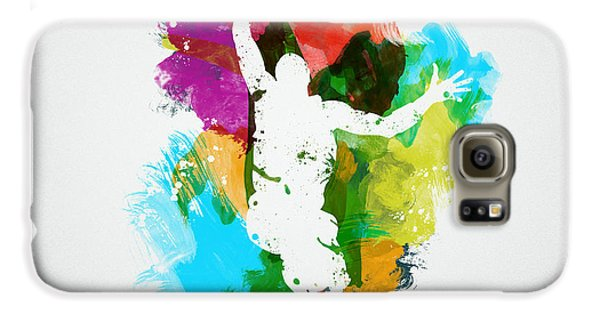 Basketball Player Galaxy S6 Case by Aged Pixel