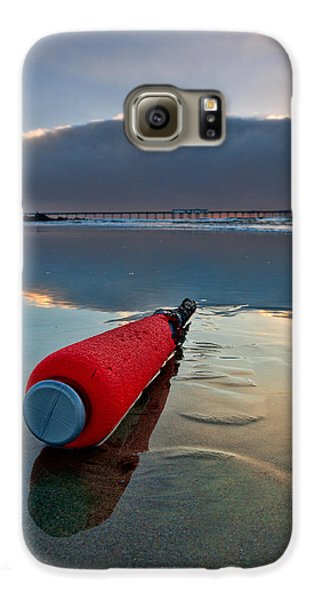 Batter-ed By The Sea Galaxy S6 Case by Peter Tellone