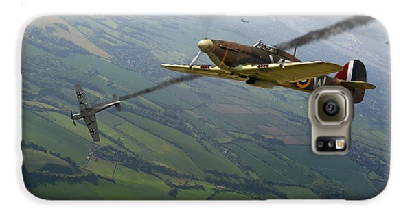 Battle Of Britain Dogfight Galaxy S6 Case by Gary Eason