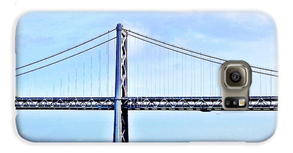 Architecture Galaxy S6 Case - Bay Bridge by Julie Gebhardt
