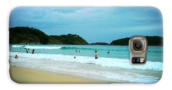 Beautiful Galaxy S6 Case - #beach #phuket #thailand #naiharn by Georgia Fowler