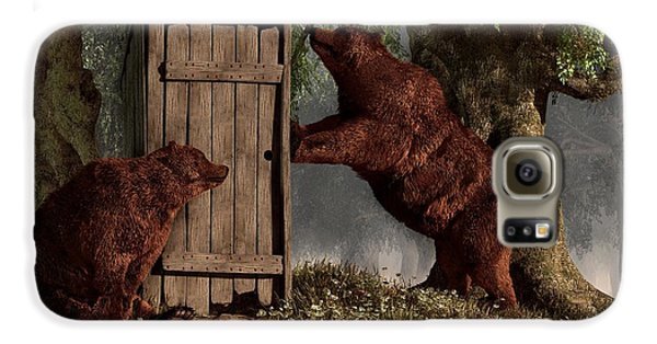 Bears Around The Outhouse Galaxy S6 Case