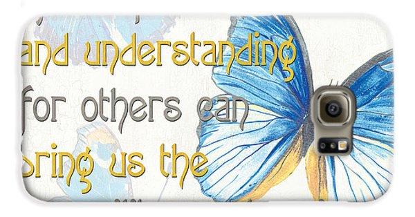 Inspirational Galaxy S6 Case - Bella Butterflies 1 by Debbie DeWitt