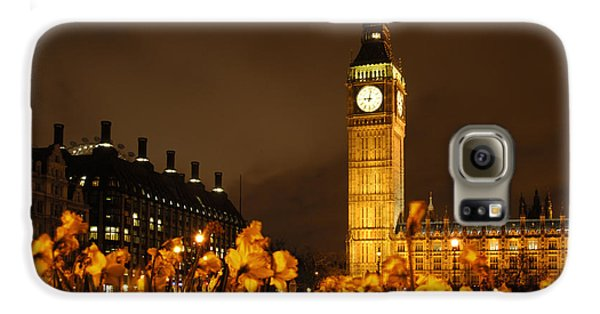 London Galaxy S6 Case - Ben With Flowers by Mike McGlothlen