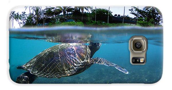 Beneath The Palms Galaxy S6 Case by Sean Davey