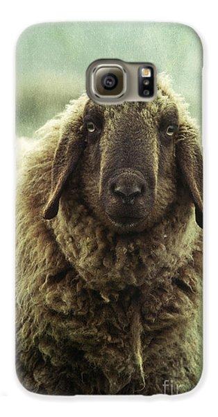 Sheep Galaxy S6 Case - Besch Da Pader by Priska Wettstein