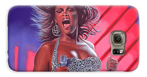 Beyonce Galaxy S6 Case by Paul Meijering